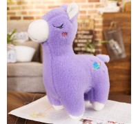 Мягкая игрушка Фиолетовая лама, 30см