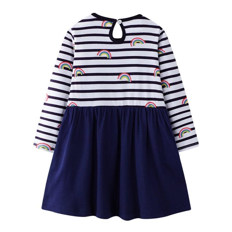 Платье для девочки Радужное небо