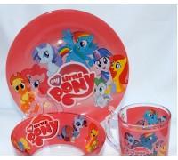 Набор детской посуды PONY