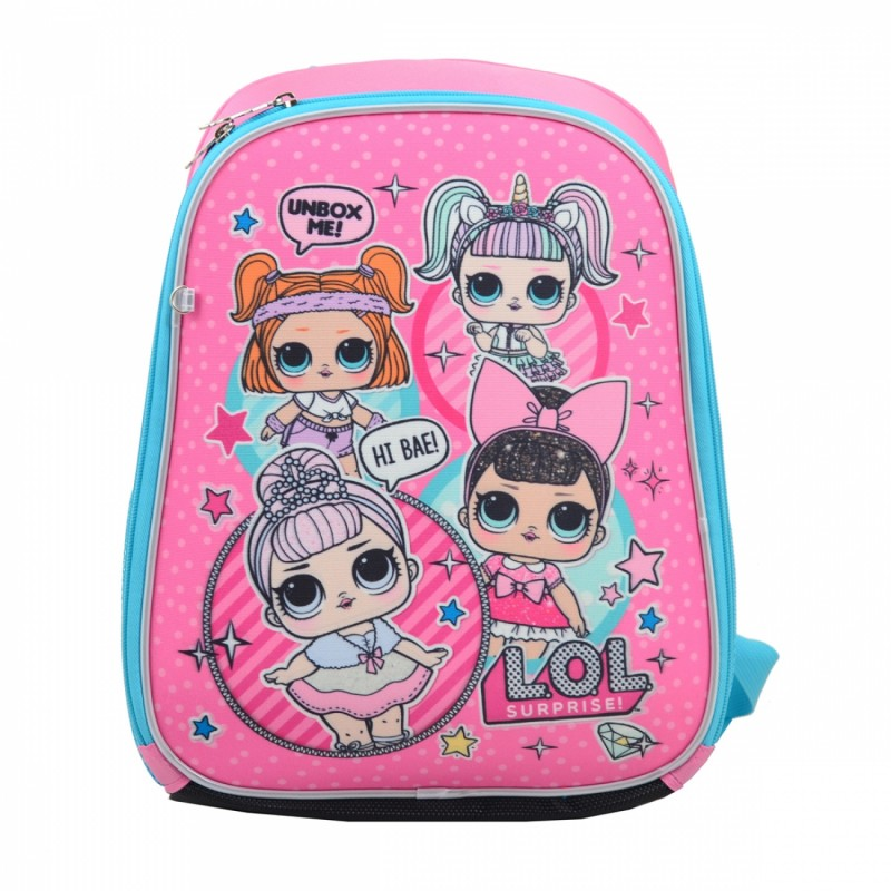 Рюкзак школьный каркасный LOL фото