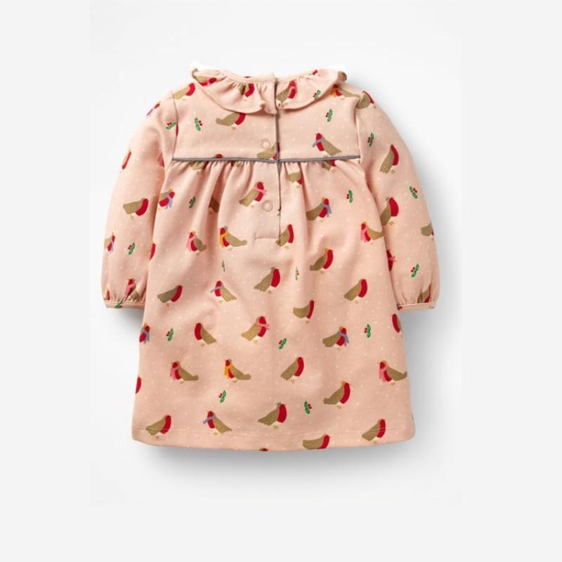 Платье для девочки Малыши снегири