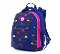 Рюкзак школьный каркасный Cats