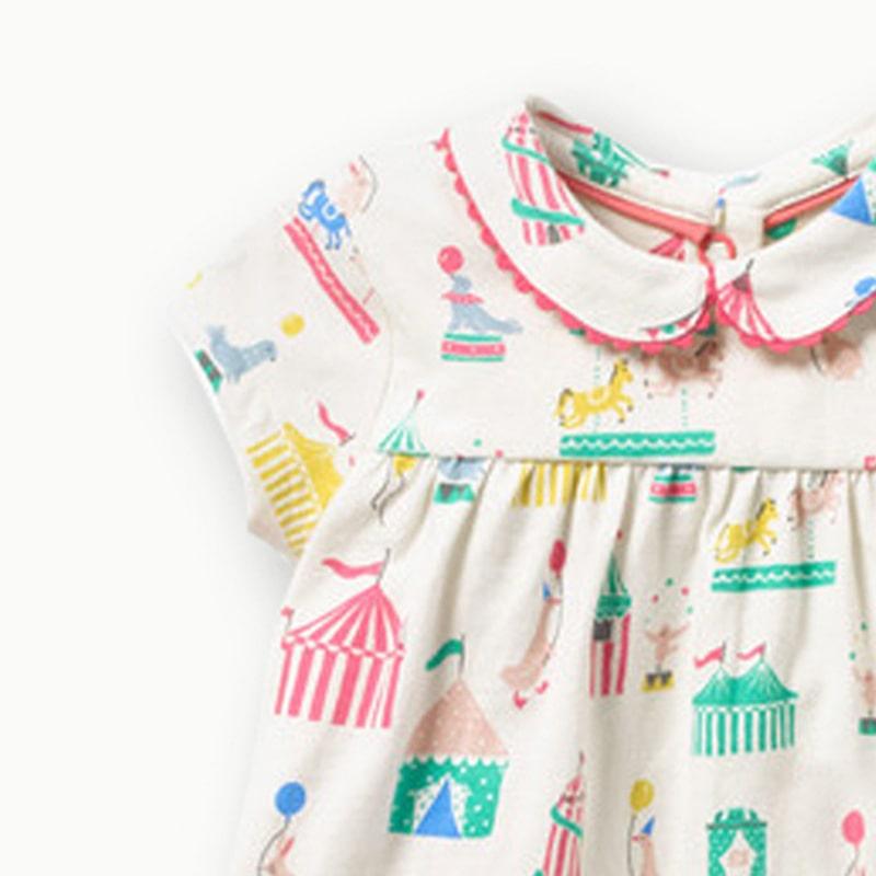 Платье для девочки Парк развлечений