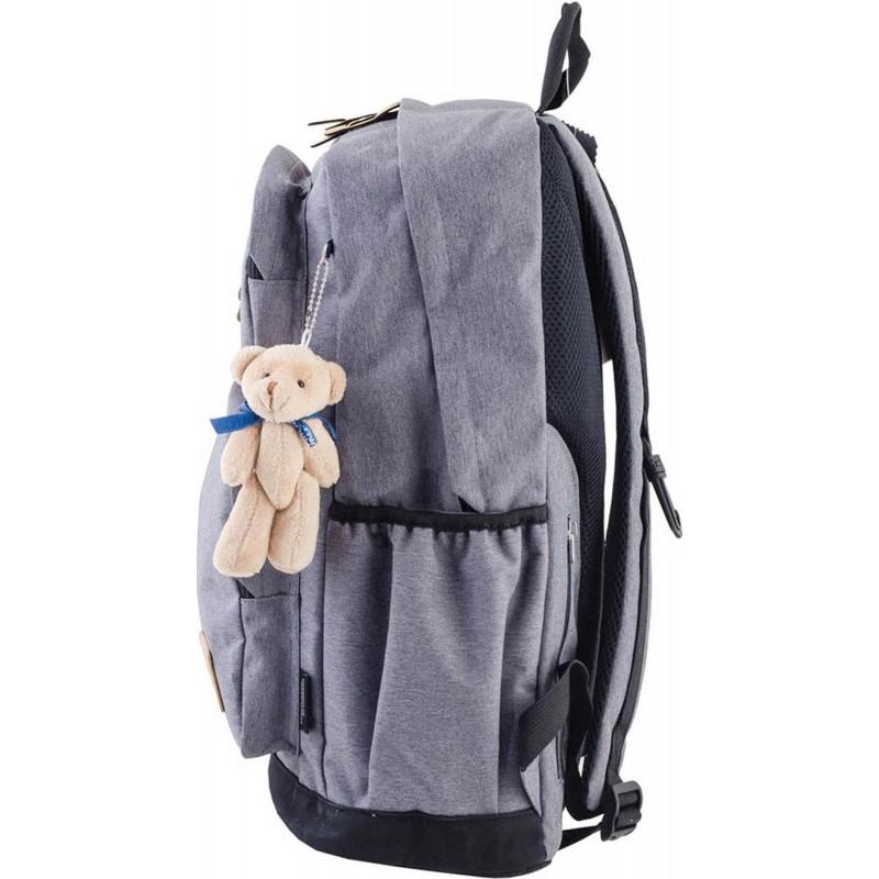 Рюкзак подростковый серый киев