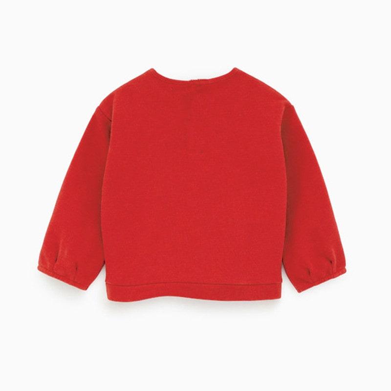 Кофта для девочки Big red фото