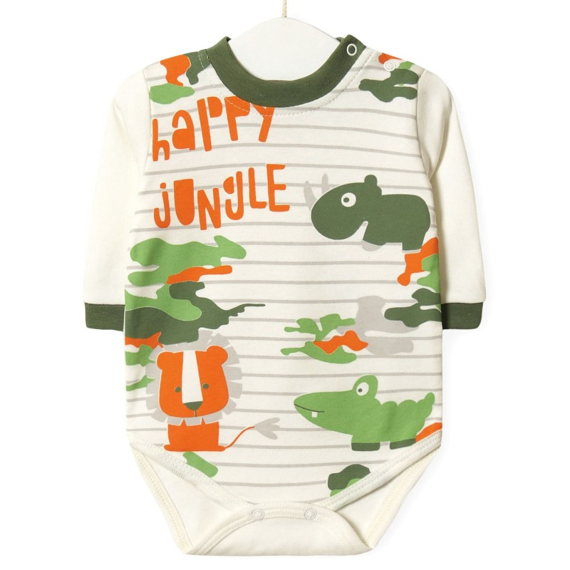 Боді дитячий Happy jungle мальчик