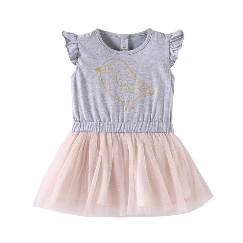 Платье для девочки Птица