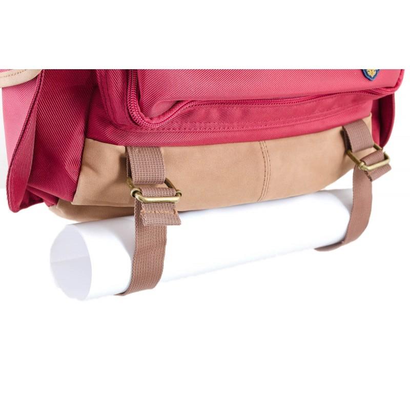 Рюкзак подростковый красный киев