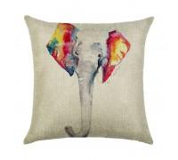 Подушка декоративная Слон 45 х 45 см