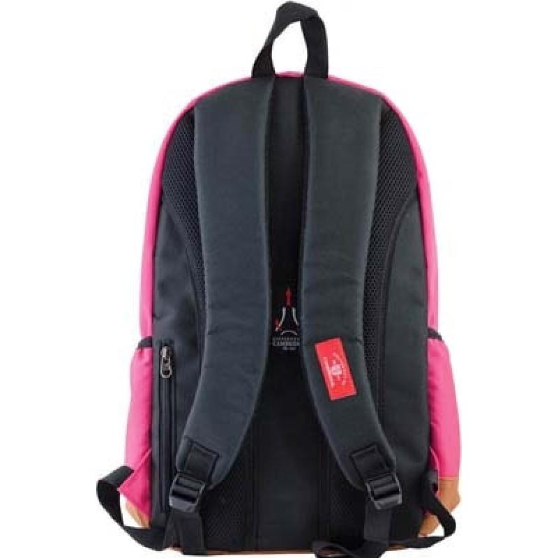 Рюкзак подростковый розовый фото