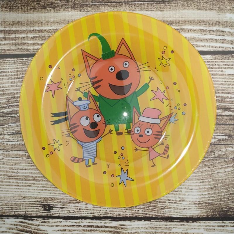картинка Набор детской посуды Три кота