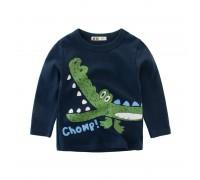 Кофта для мальчика Радостный крокодил