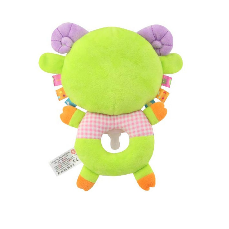 Мягкая игрушка-соска Зелёный барашек