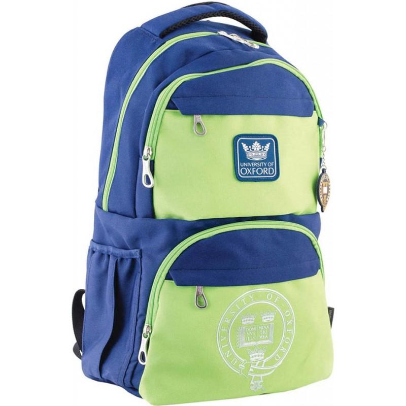 Рюкзак подростковый сине-зеленый