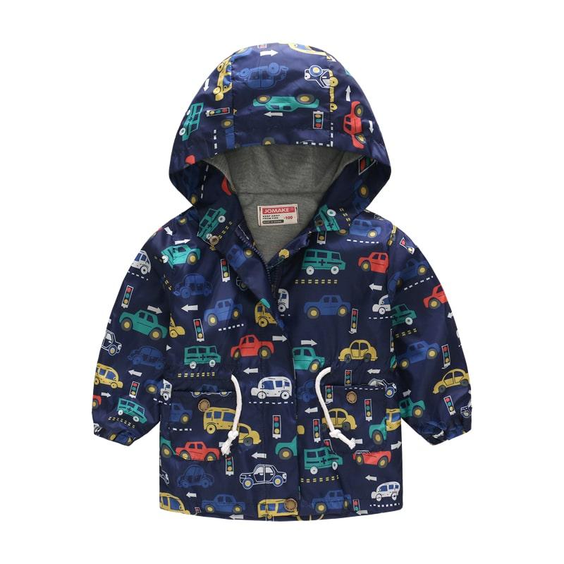 Куртка-ветровка для мальчика фото