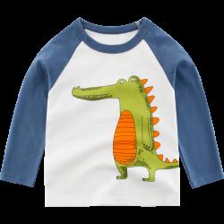 Кофта для мальчика Любопытный крокодил