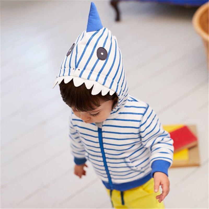 Кофта с капюшоном для мальчика Акула
