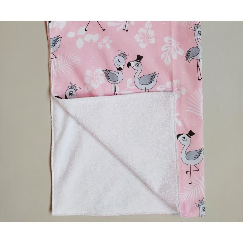 Пеленка непромокаемая Фламинго фото
