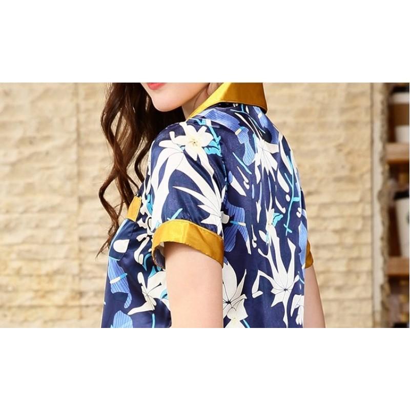 Пижама женская Цветочная абстракция