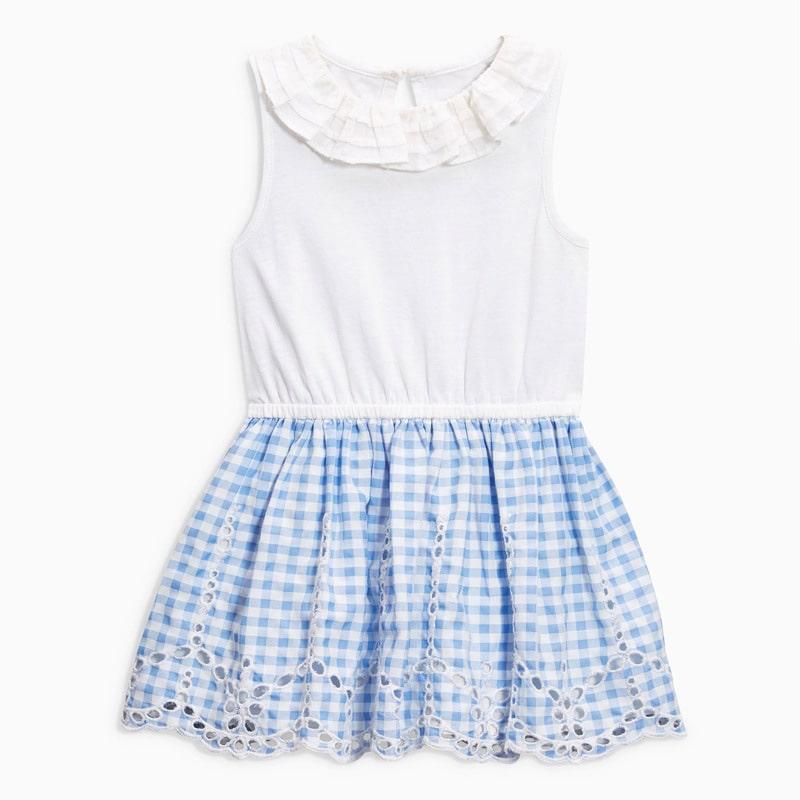 Платье для девочки Мелкая клеточка