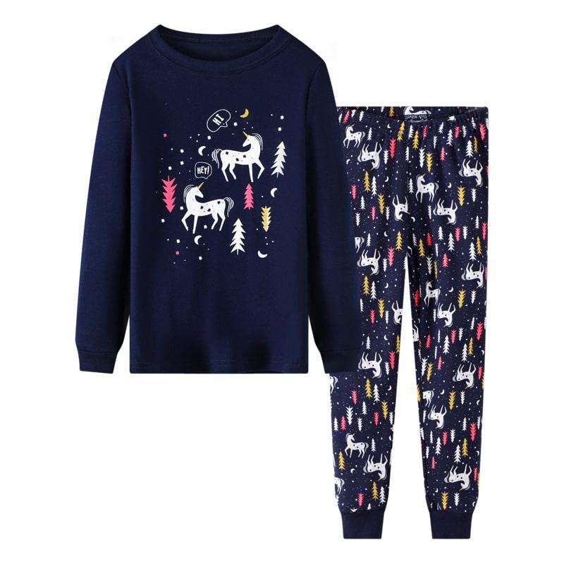Пижама для девочки unicorns фото