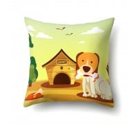 Подушка декоративная Сторожевой пес 45 х 45 см