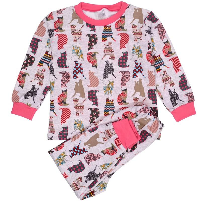 фото пижама детская pink cat