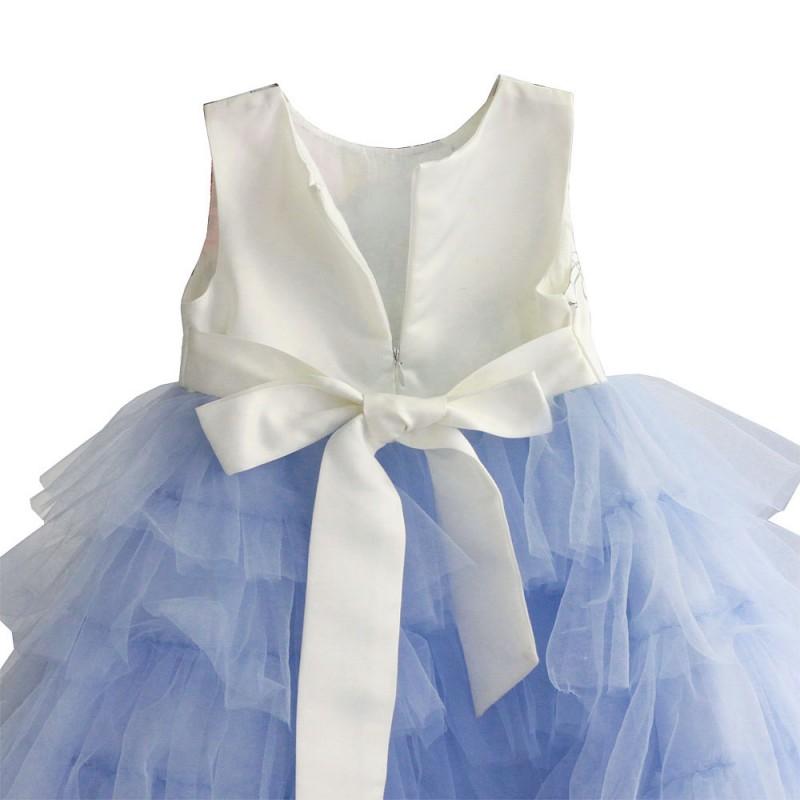 Платье для девочки нарядное с фатином