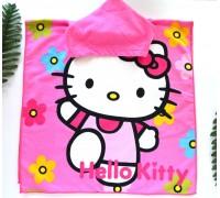 Полотенце-пончо HELLO KITTY