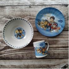 Набор детской посуды ST paw patrol 3 предмета