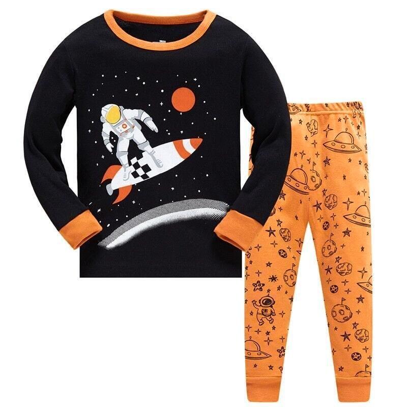 Пижама Космонавт на ракете