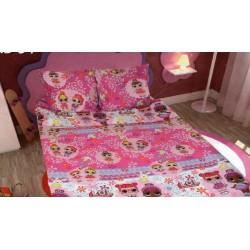 Комплект детское постельное белье полуторка LOL Тиротекс
