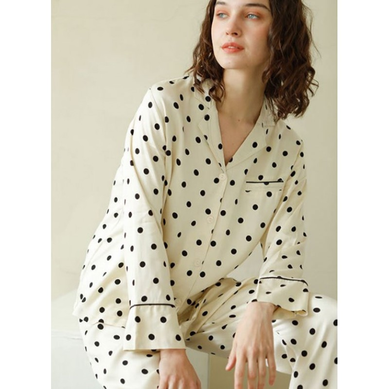 Пижама женская Black peas