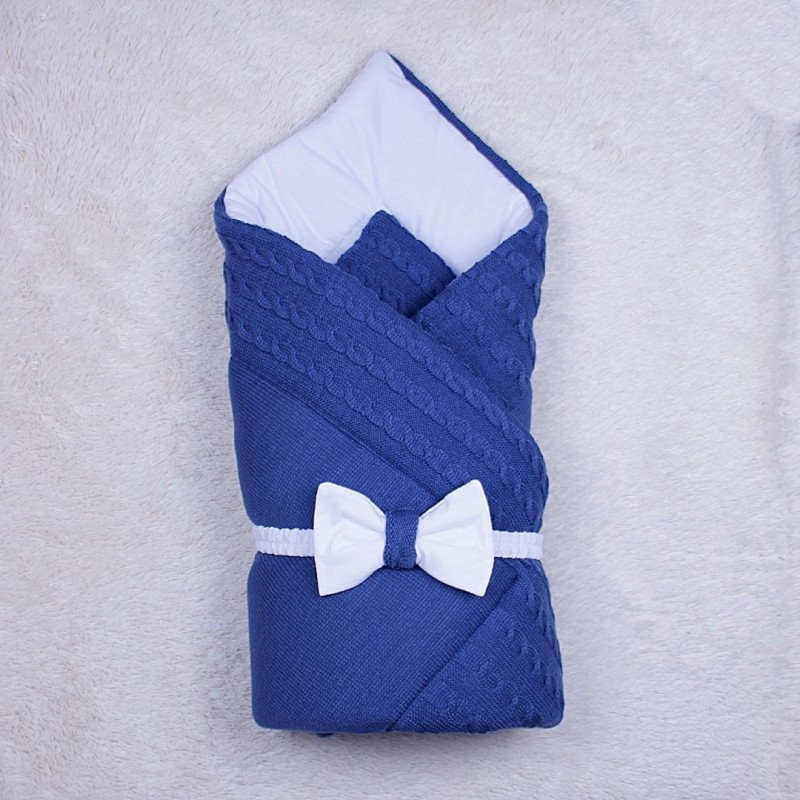 Зимний комплект с комбинезоном синий