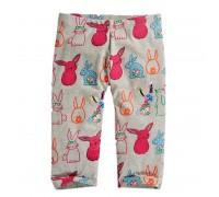 Леггинсы для девочки Кролик