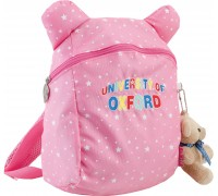Рюкзак детский розовый 20.5 * 28.5 * 9.5