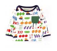 Детская кофта Овощи