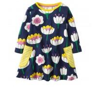 Платье для девочки Водяная лилия