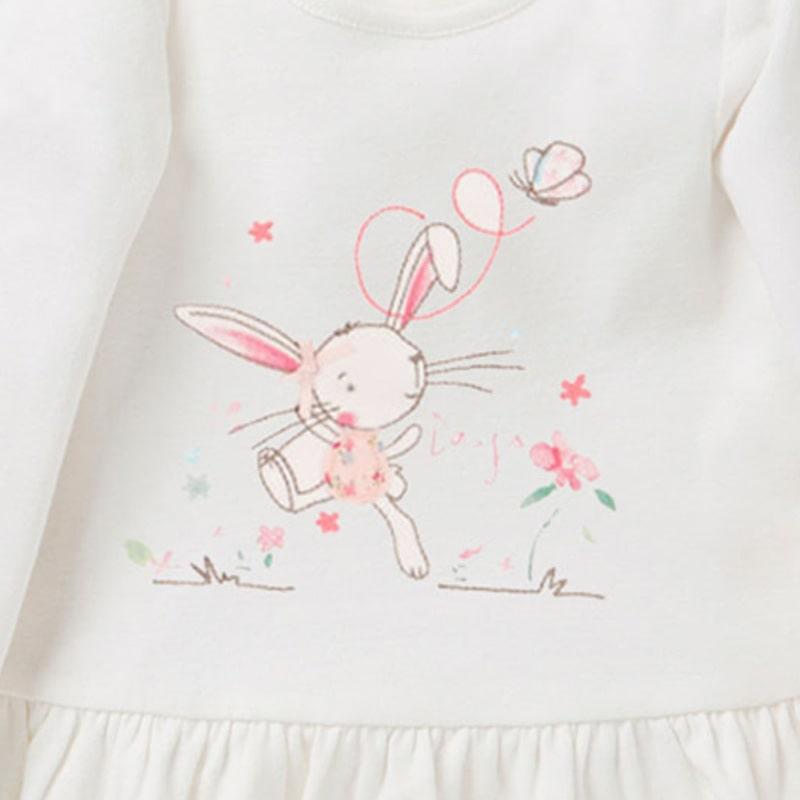 Кофта для девочки Веселый кролик