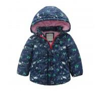 Куртка для девочки Лес