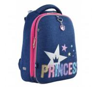 Рюкзак школьный каркасный Princess