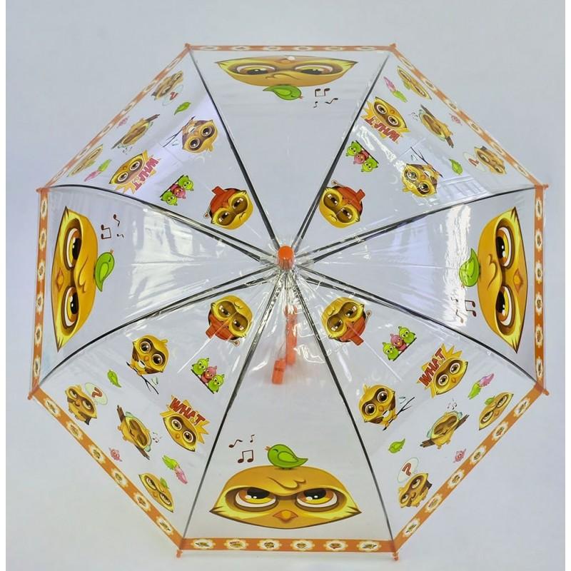 фото Зонтик детский глубокий купол