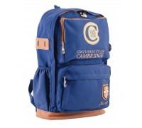 Рюкзак подростковый синий 31 * 46 * 15
