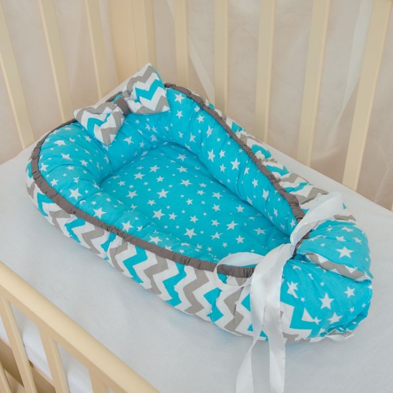 фото кокон для новорожденного Звездочки Мини