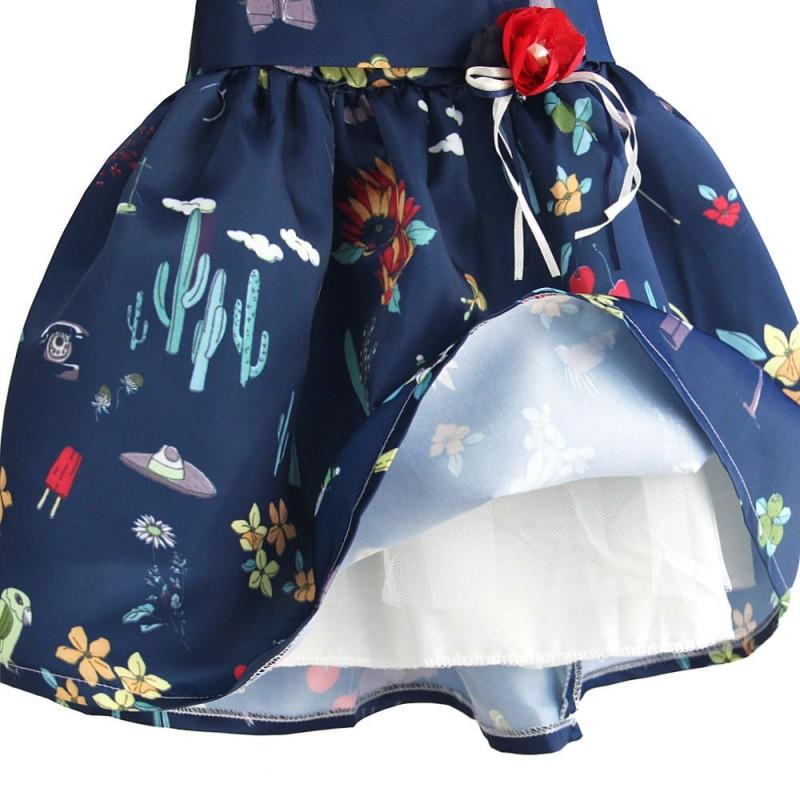 Платье для девочки Театр цветов