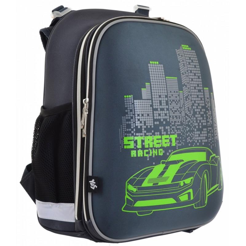 Рюкзак школьный каркасный Street Racing фото