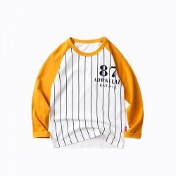 Кофта для мальчика Мелкие линии, желтый