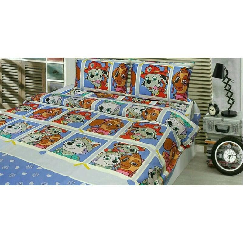 фото Полуторное детское постельное белье PATROL