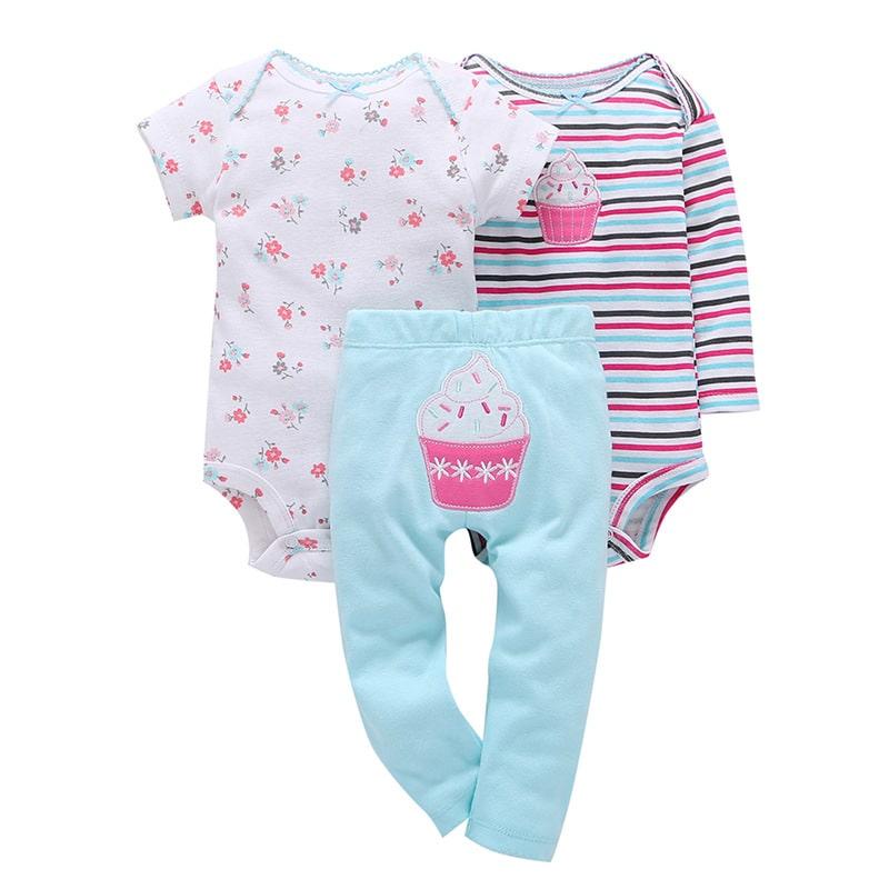 фото Боди и штанишки для девочки