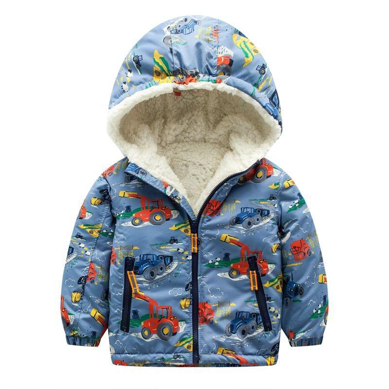 Куртка для мальчика Трактор